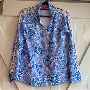 Lilly Pulitzer Turtley Awesome Popover, XS
